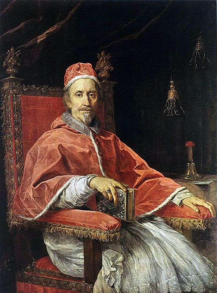 Портрет Папи Климента IX   Карло Маратта