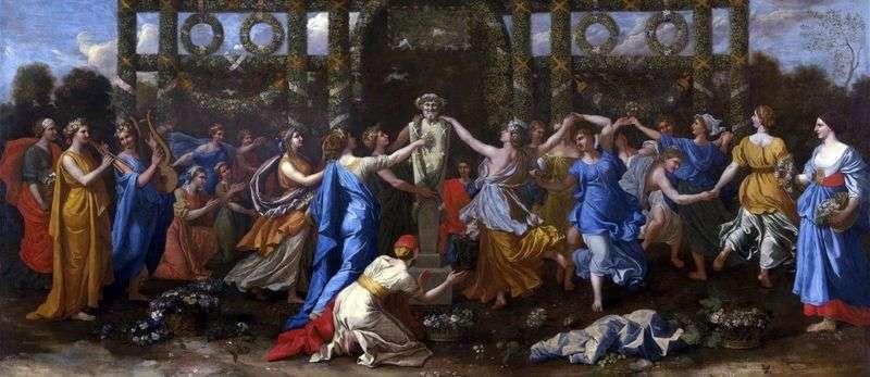 Танець на честь Приапа   Нікола Пуссен