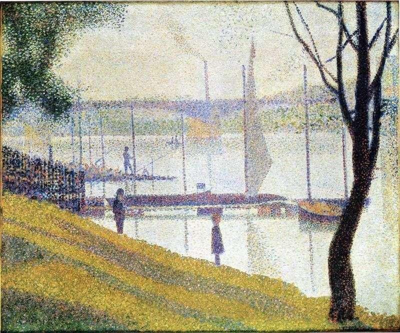Міст в Курбвуа   Жорж Сера