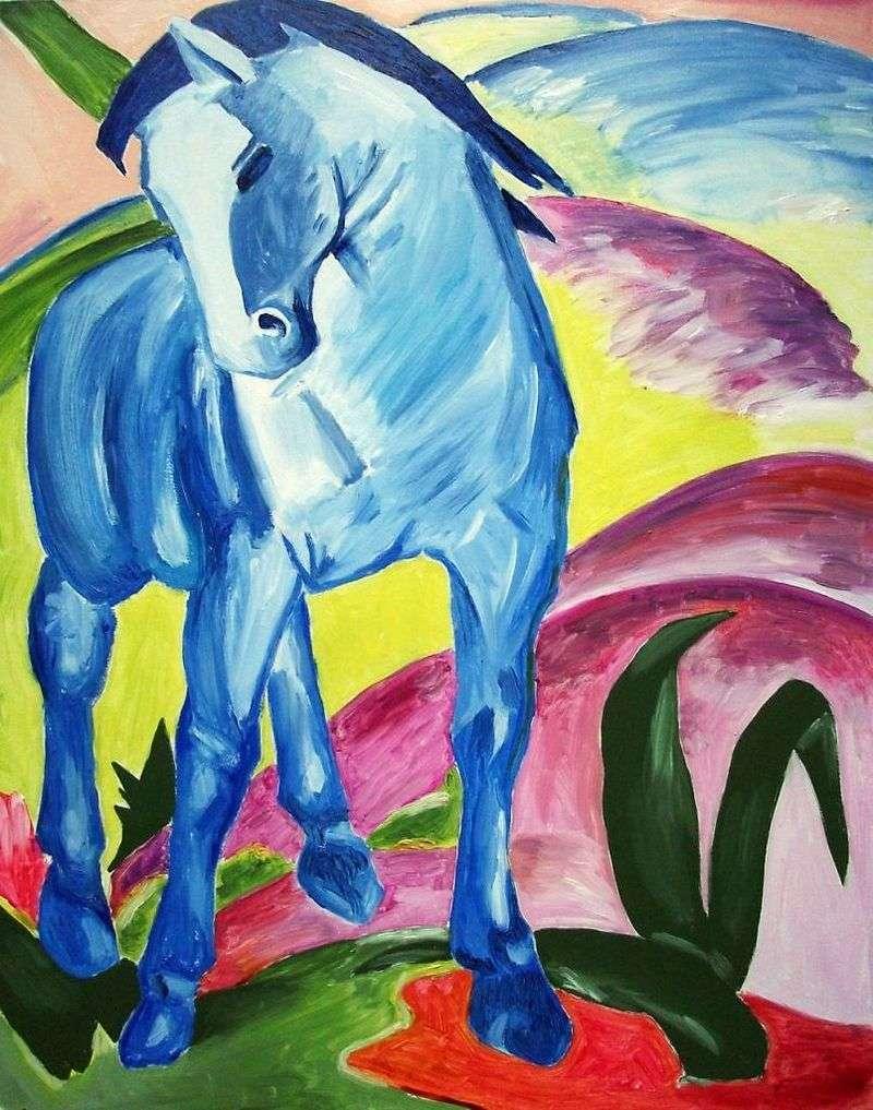 Синій кінь   Франц Марк