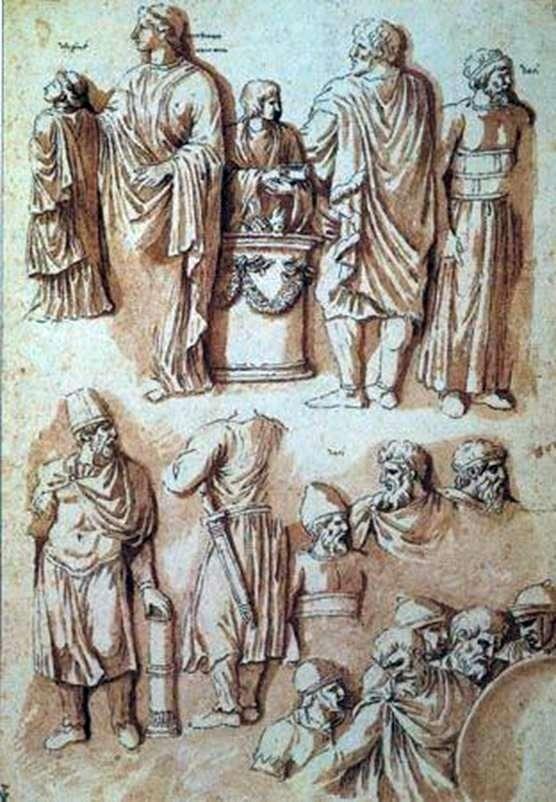 Фігури з колони Траяна   Нікола Пуссен