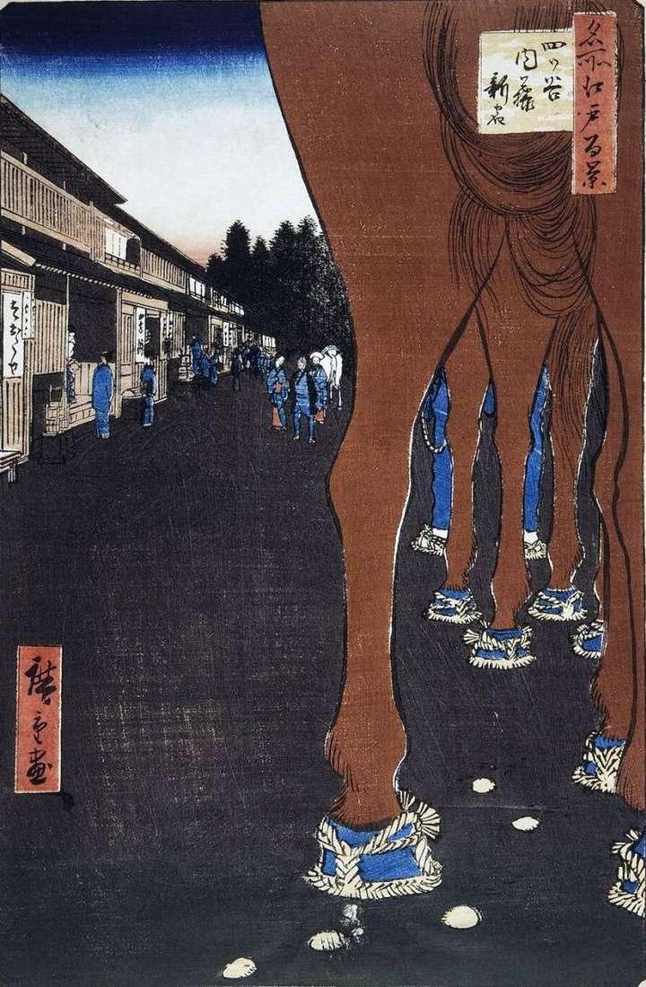 Найто Сіндзюку в Йоцуя   Утагава Хиросигэ
