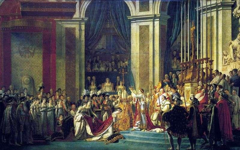 Помазання Наполеона I і коронація Жозефіни   Жак Луї Давид