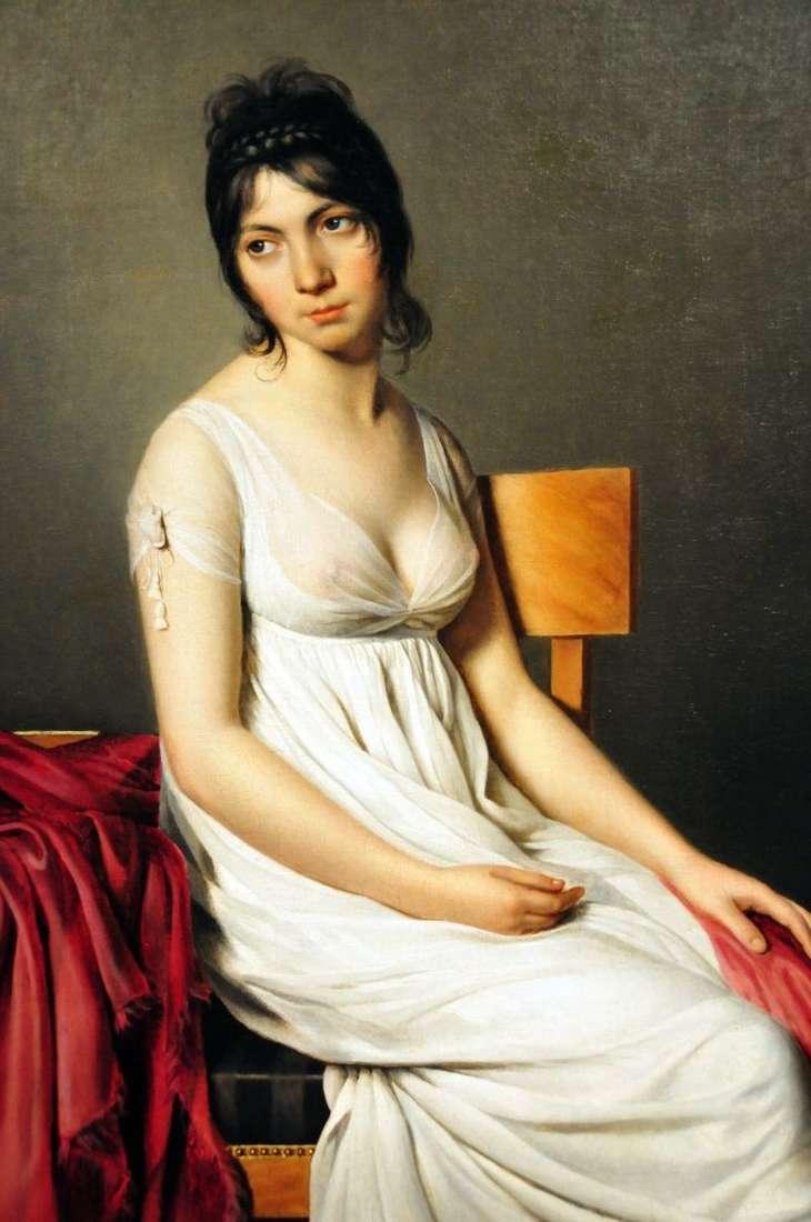 Портрет Джованни Донни в білому   Жак Луї Давид