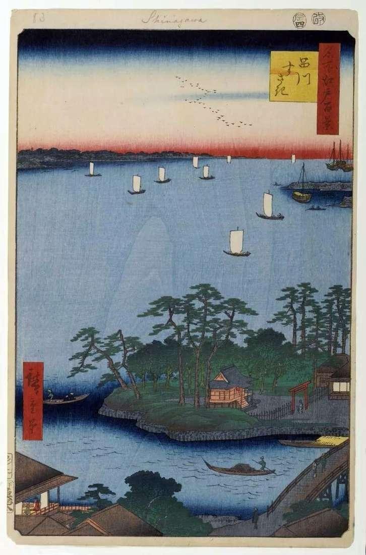 Мілина в Сусаки   Утагава Хиросигэ