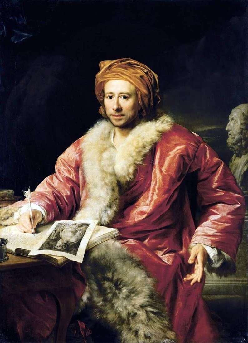 Портрет Йоганна Вінкельмана Іоахіма   Антон фон Марон