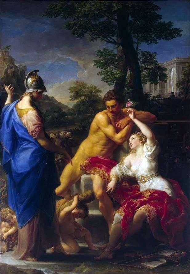 Геркулес на роздоріжжі між Чеснотою і Пороком   Помпео Батоні