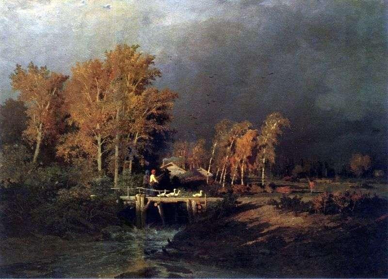 Перед дощем   Федір Васильєв