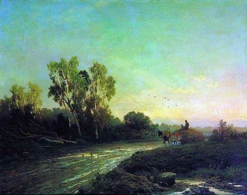 Після дощу   Федір Васильєв