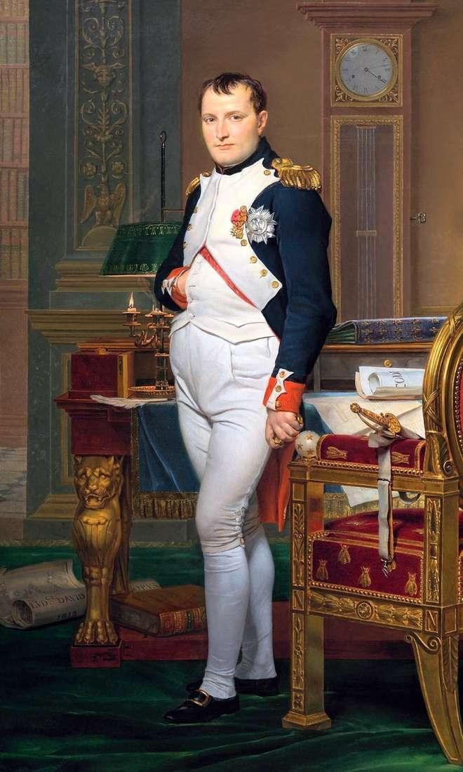 Портрет Наполеона в імператорському кабінеті   Жак Луї Давид
