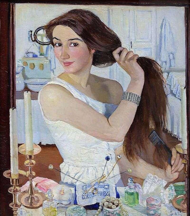 Автопортрет (За туалетом)   Зінаїда Серебрякова
