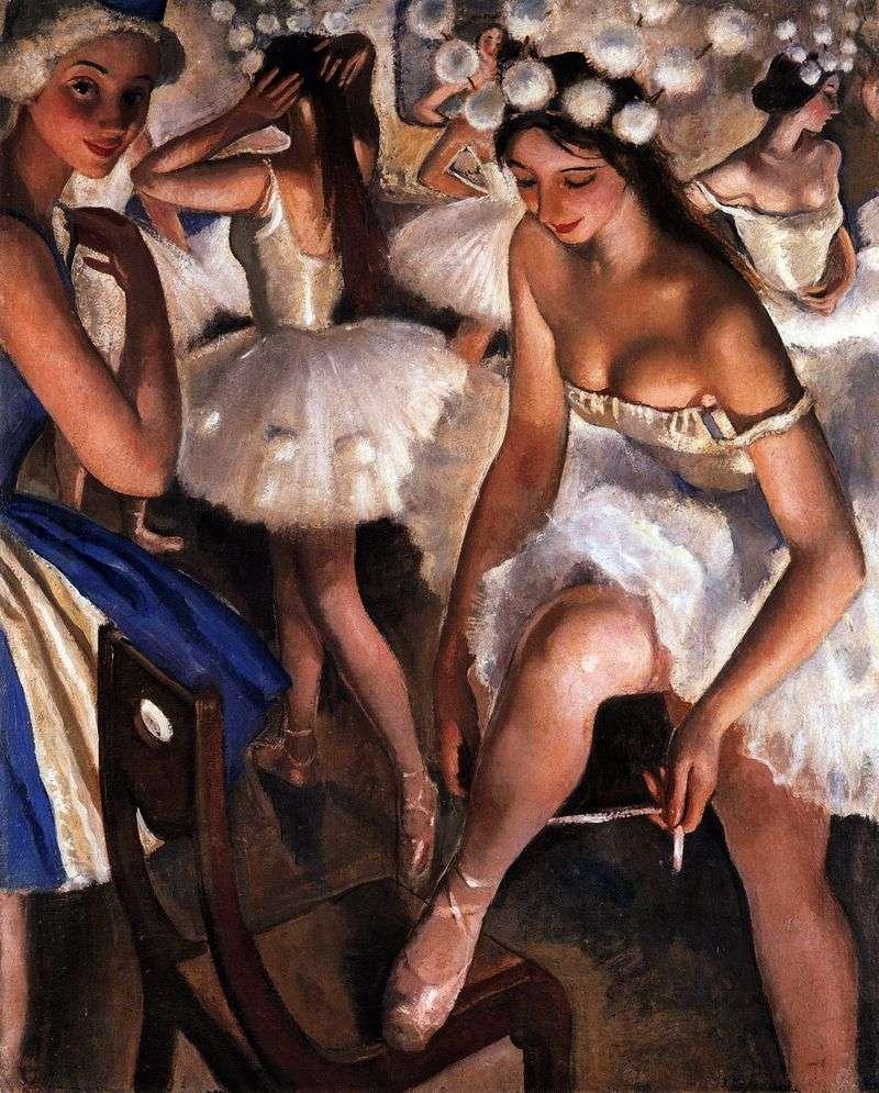 Балетна вбиральня. Сніжинки   Зінаїда Серебрякова