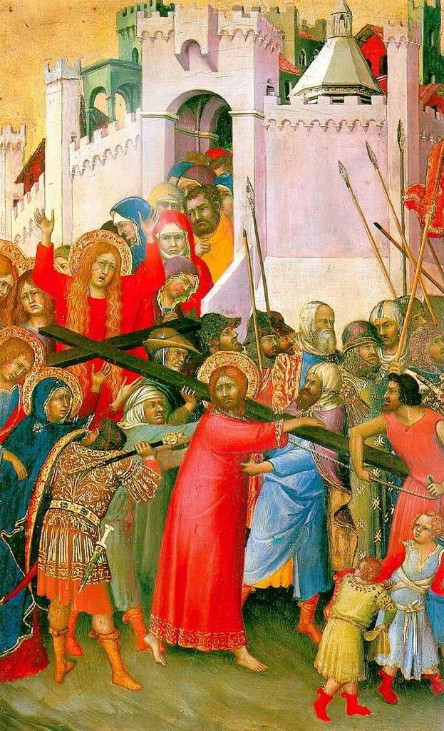 Несення хреста   Сімоне Мартіні