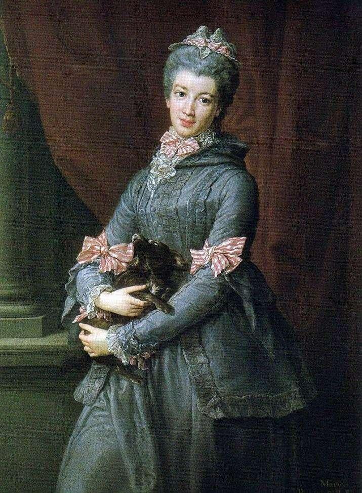 Портрет баронеси леді Мері Фокс   Помпео Батоні