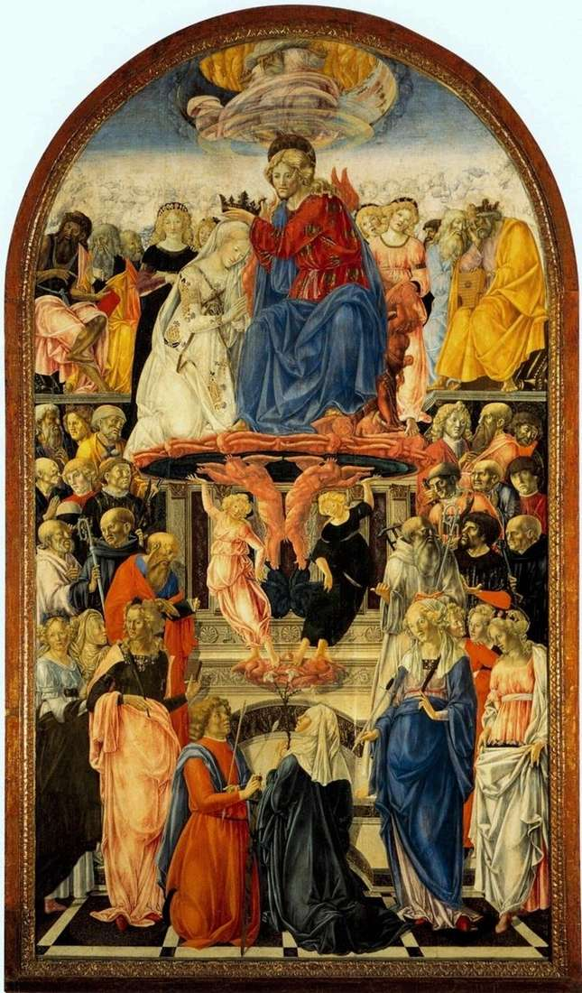 Коронування Марії   Франческо ді Джорджо Мартіні