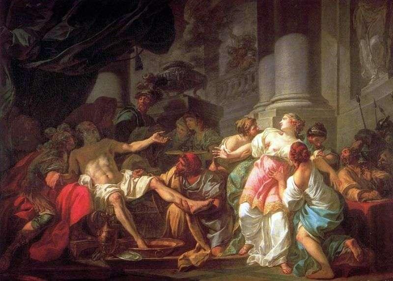 Смерть Сенеки   Жак Луї Давид