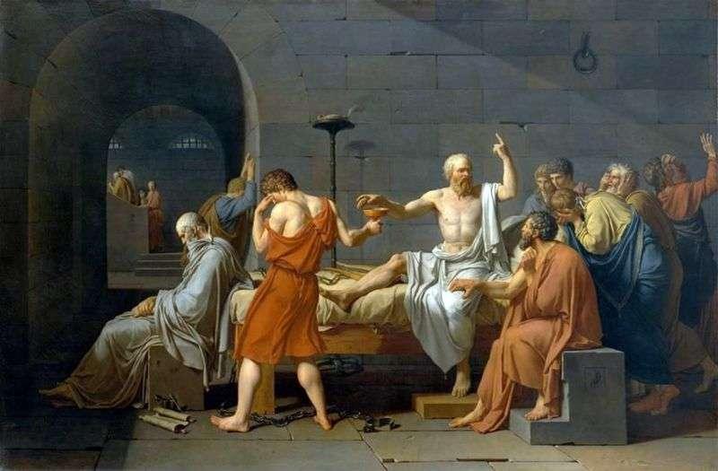 Смерть Сократа   Жак Луї Давид