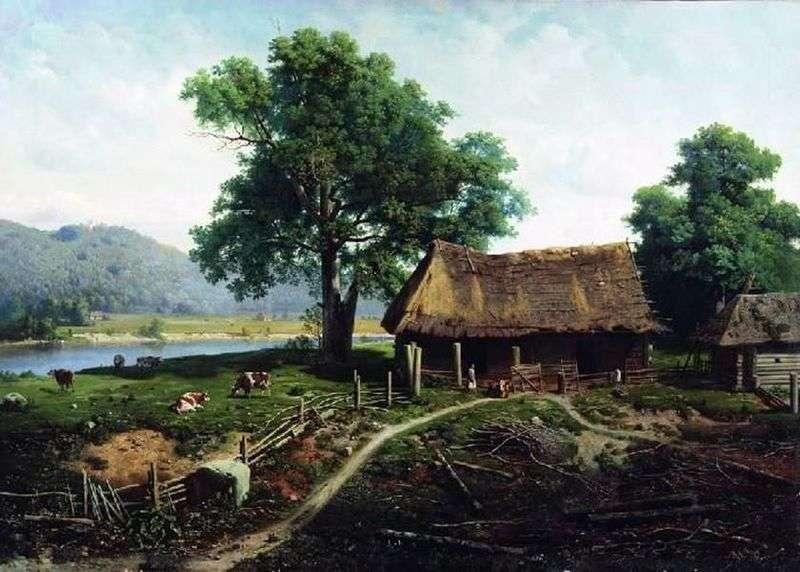 Вид на острові Валаамі   Михайло Клодт