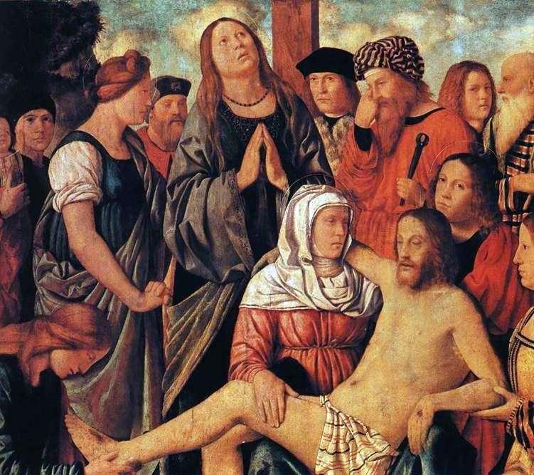 Оплакування Христа   Марко Марциале