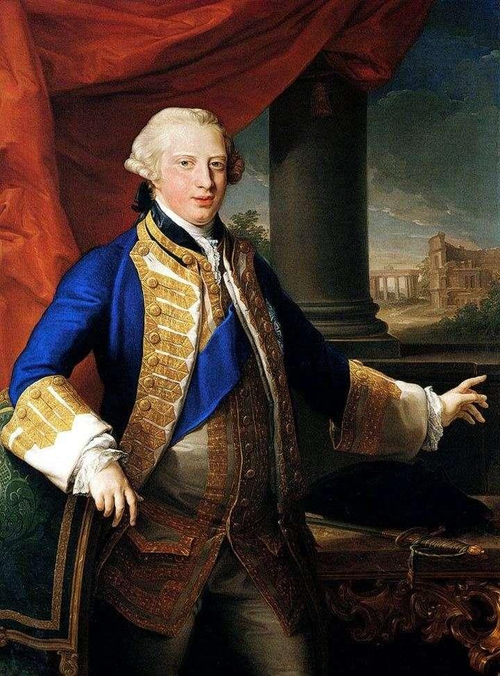 Портрет Едварда Серпня, герцога Йоркського   Помпео Батоні