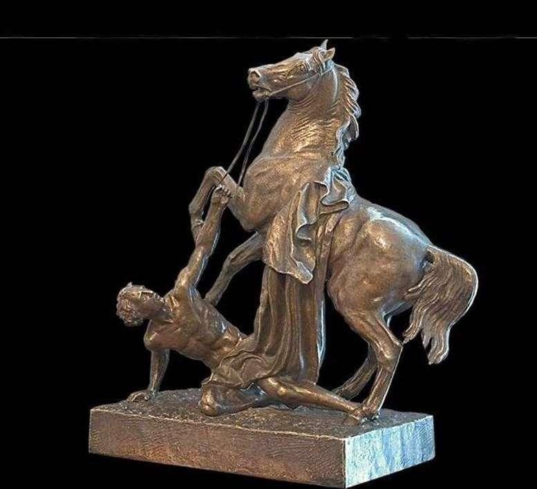 Кінь з водничим   Петро Клодт