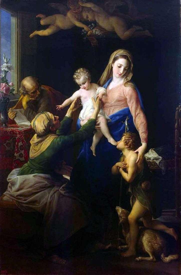 Святе сімейство   Помпео Батоні