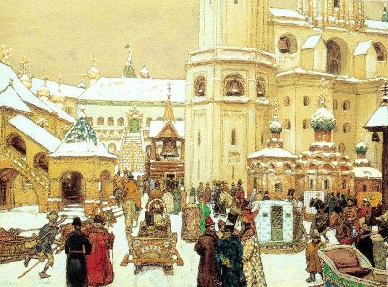 Площа Івана Великого в Кремлі. XVII століття   Аполлінарій Васнецов