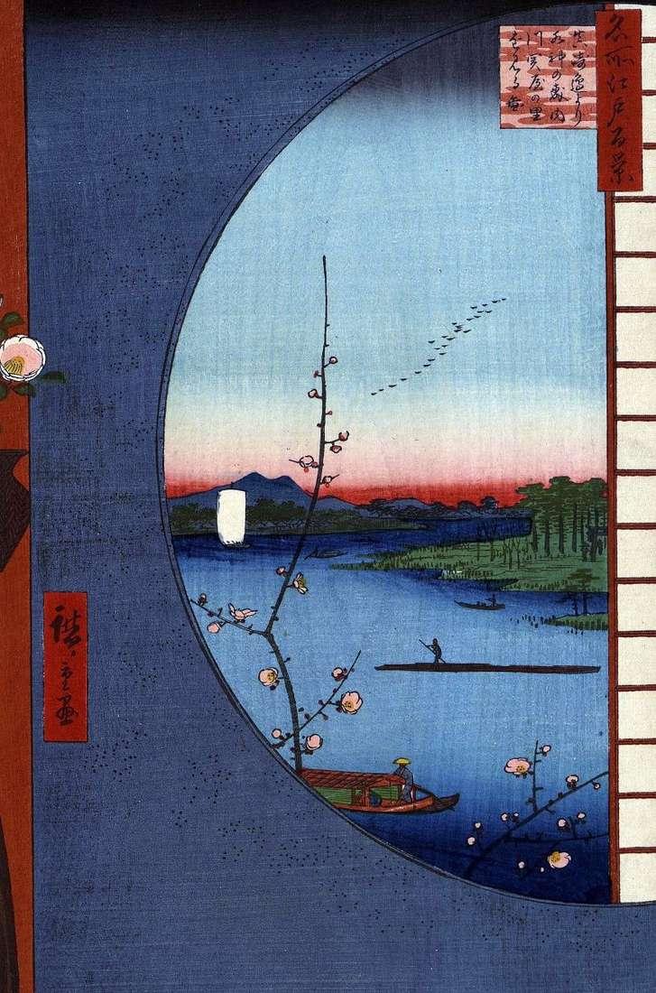 Святилище Массаки на річці Утигава, село Сэкия але сато і святилище Суйлзин але морі