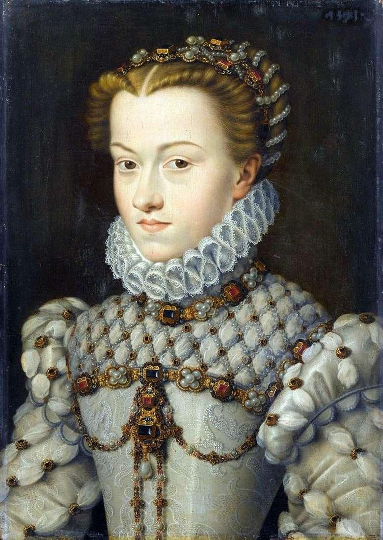 Принцеса Єлизавета Австрійська   Франсуа Клуэ