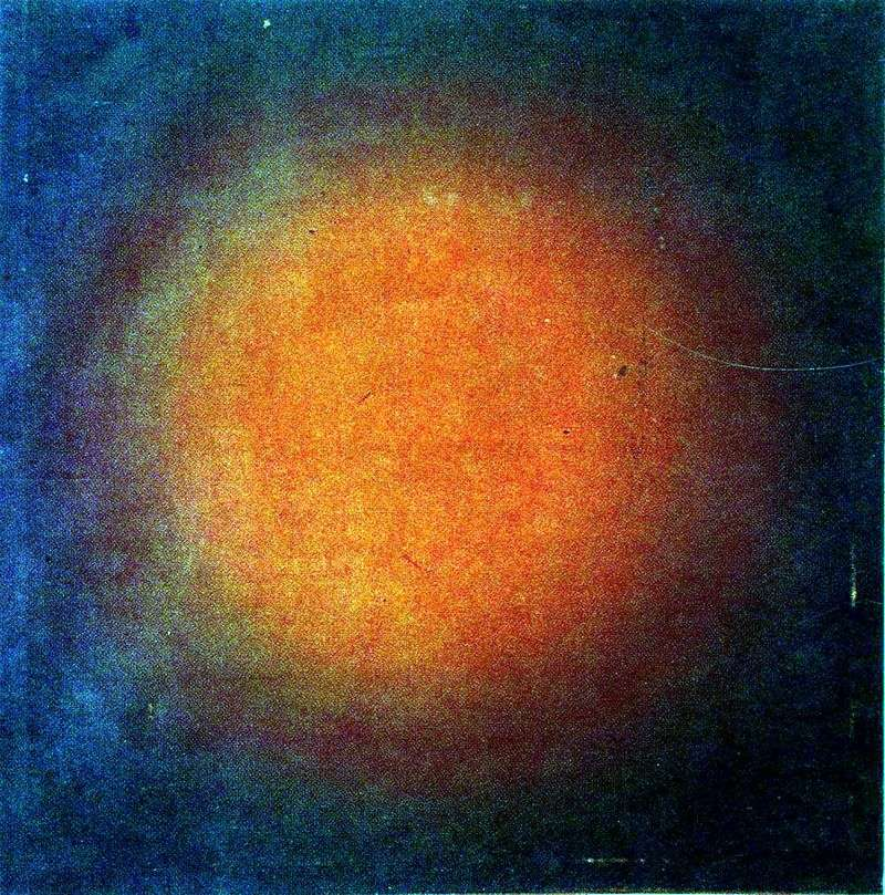 Сферична композиція червоного кольору   Іван Клюнков