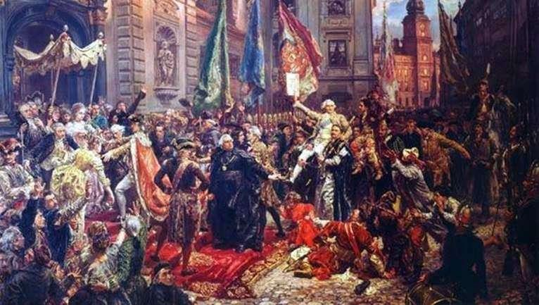 Конституція 3 травня   Ян Матейко Алоізій