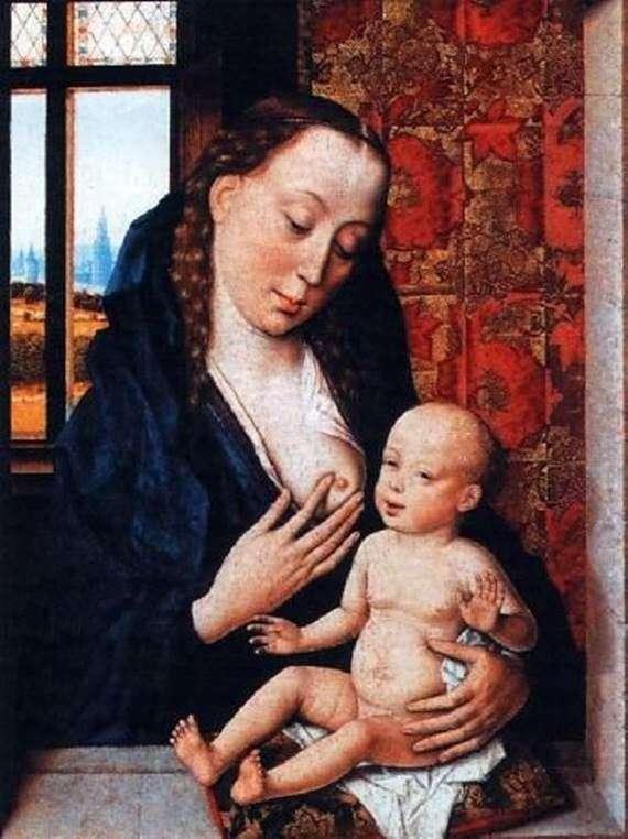 Мадонна, що годує Немовля   Дірк Баутс