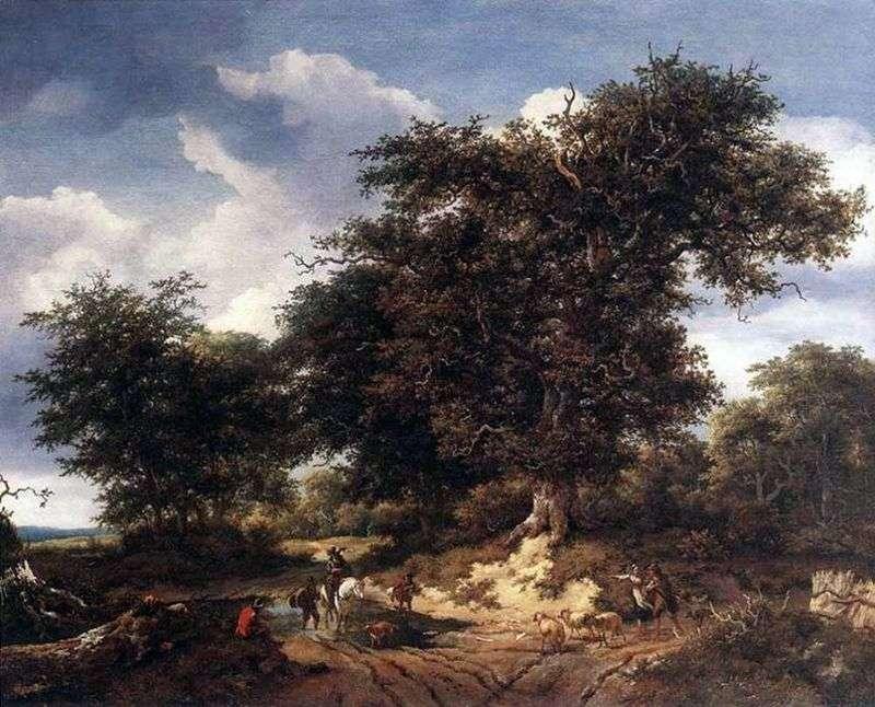 Великий дуб   Якоб ван Рейсдал