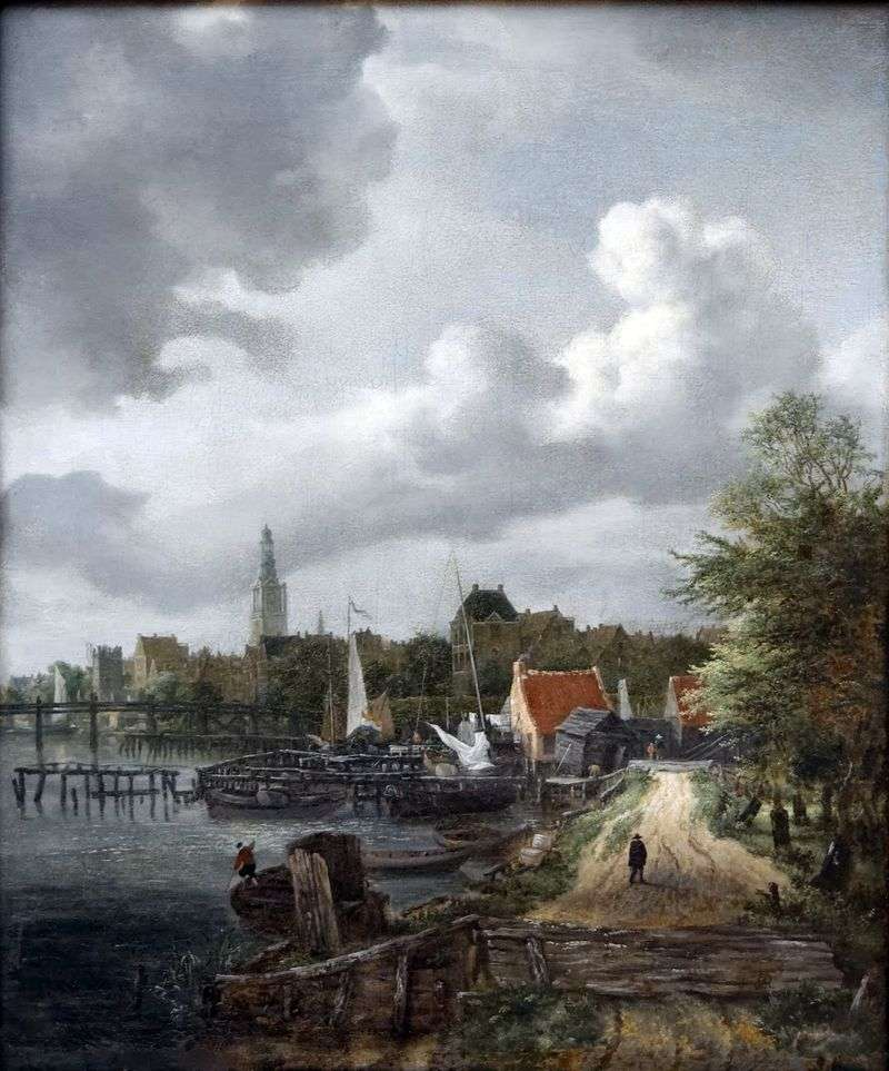 Вид Амстердама   Якоб ван Рейсдал