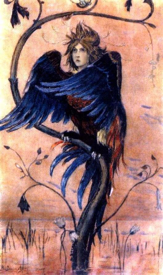 Гамаюн, птах віщаючи   Віктор Васнецов