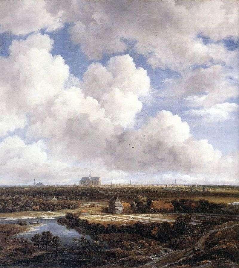 Вид Харлема   Якоб ван Рейсдал