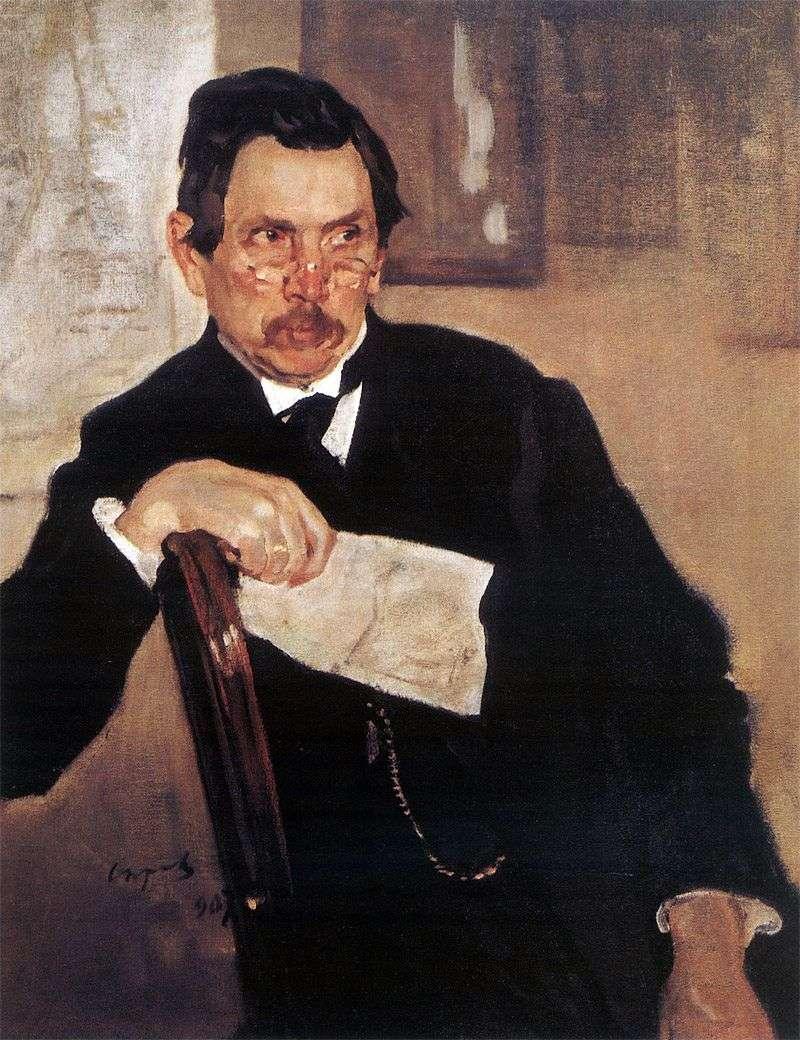 Портрет А. В. Касьянова   Валентин Сєров