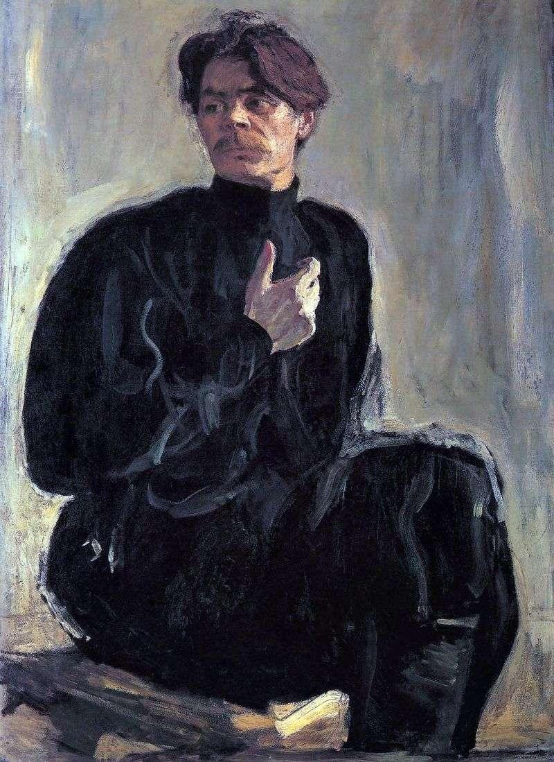 Портрет А. М. Гіркого   Валентин Сєров