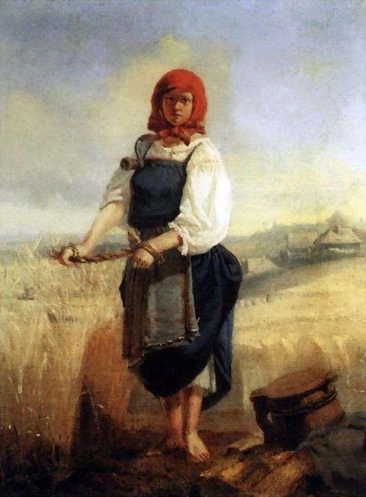 Жниця   Віктор Васнецов