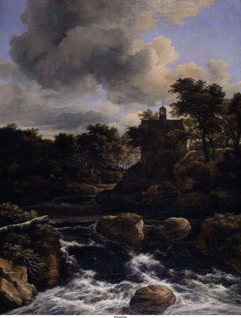 Водоспад у лісі   Якоб ван Рейсдал