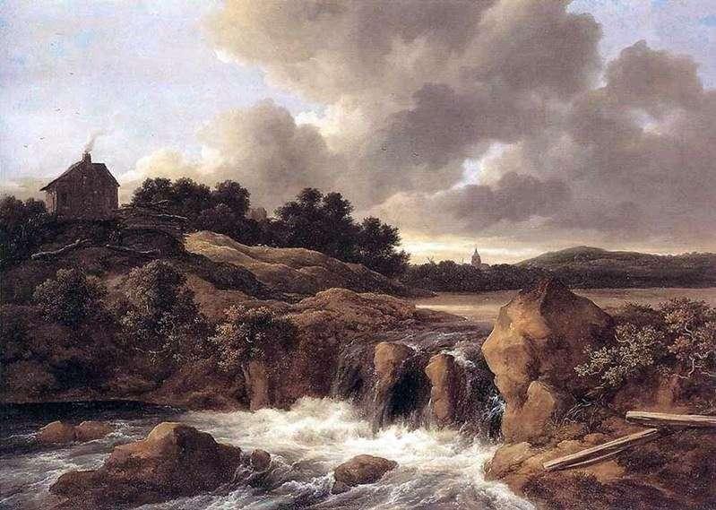 Водоспади   Якоб ван Рейсдал