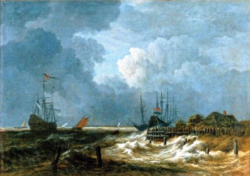 Морські   Якоб ван Рейсдал
