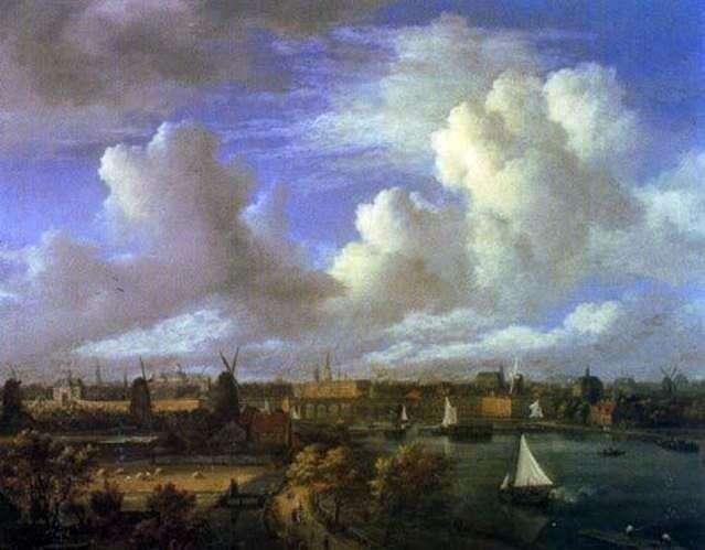 Міські види   Якоб ван Рейсдал