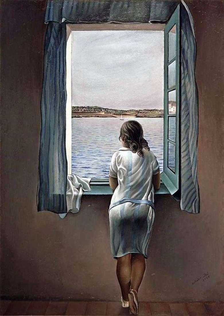 Дівчина біля вікна   Сальвадор Далі