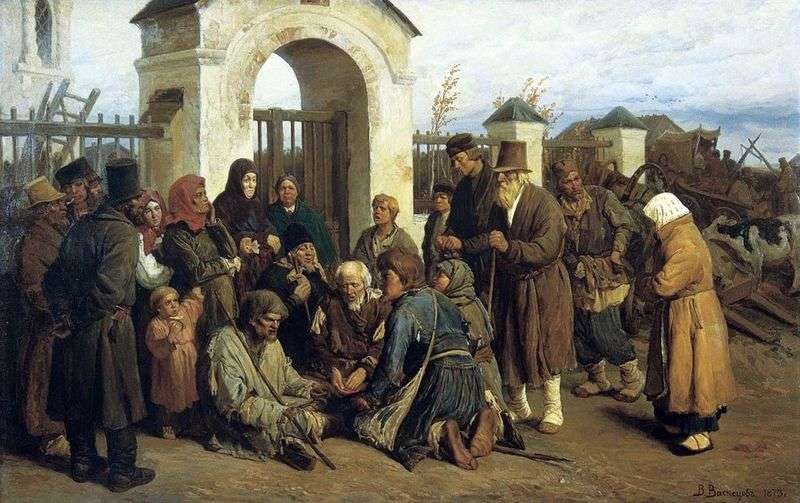 Жебраки співаки (прочани)   Віктор Васнецов