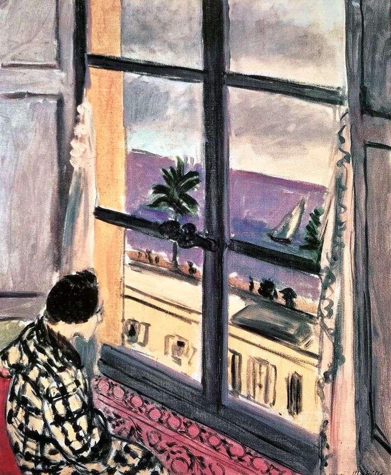 Жінка біля вікна   Анрі Матісс