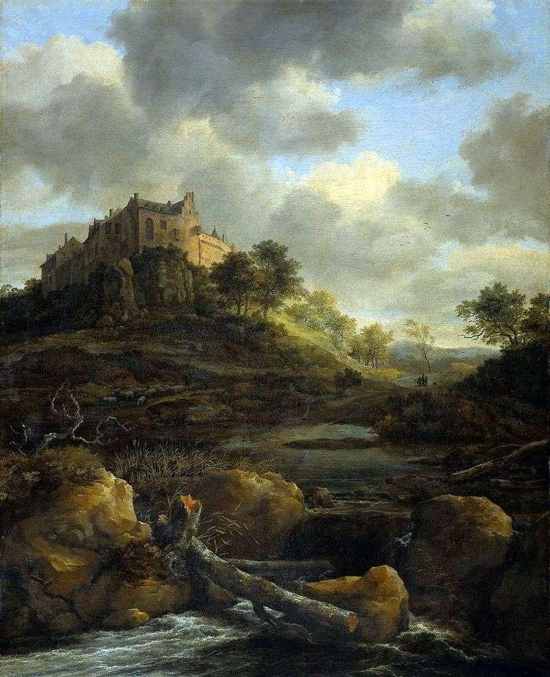 Замок Бентхейм   Якоб ван Рейсдал