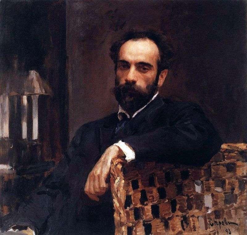 Портрет В. І. Левітана   Валентин Сєров