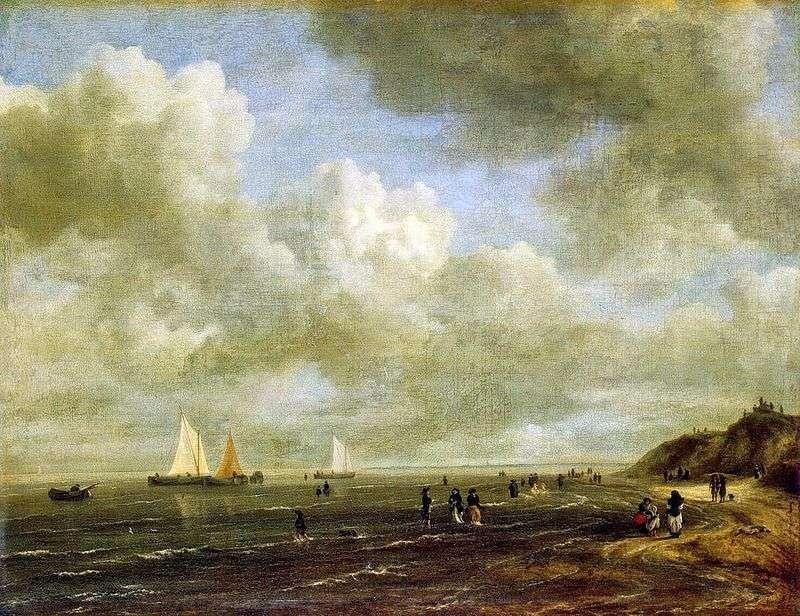 Морський берег   Якоб ван Рейсдаль