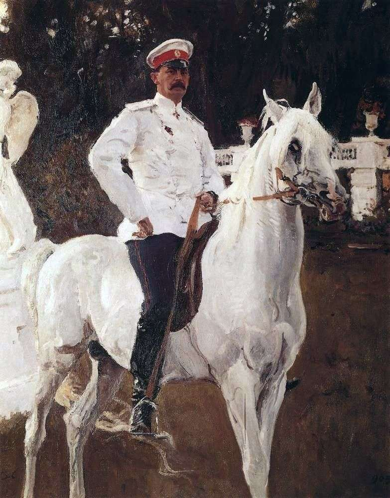 Портрет князя Ф. Ф. Юсупова   Валентин Сєров